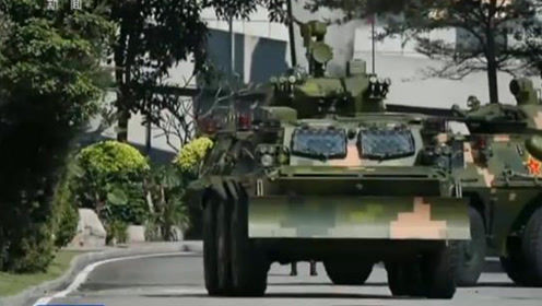 驻澳门部队某装甲步兵连:锤炼过硬防务铁拳