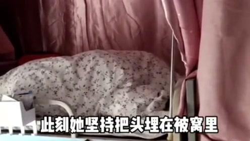 播音系的美女在舍友解说闺蜜赖床,声音听着很专业,网友:高手!