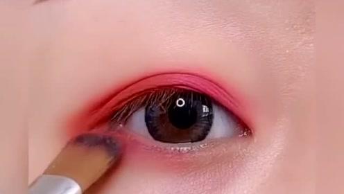 日常眼妆这样画,少女感爆棚,超级好看