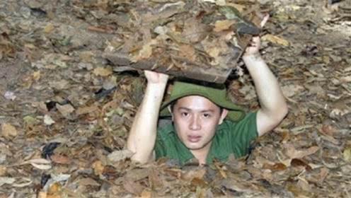 """越南发现""""地下城"""",入口不到一米,底下竟是一个小城市!"""