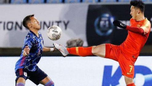 不认错!东亚杯国足1比2输日本,国脚飞踹日本人头部险致重伤