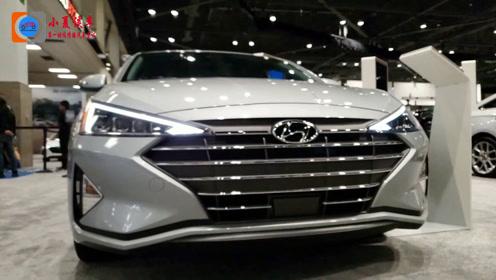 2020款现代伊兰特升级发布,配置比国内领动更好,配IVT变速箱