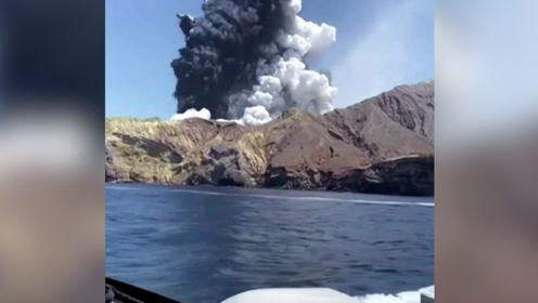 新西兰火山喷发,救援者描述现场:一切都被灰烬覆盖,没有幸存者