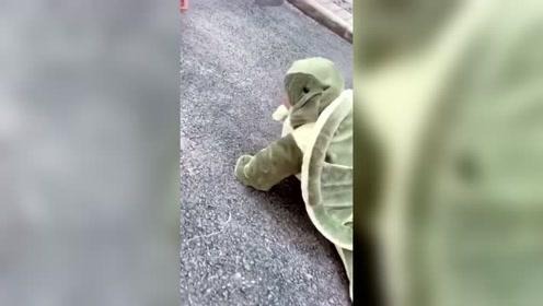 妈妈生了个乌龟?穿上这个衣服,宝宝都萌翻了
