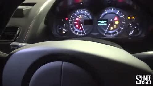 阿斯顿·马丁Vantage GT8车内内饰展示!