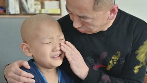 """男童肿瘤复发父母欲放弃治疗,男童""""再救我一次"""""""