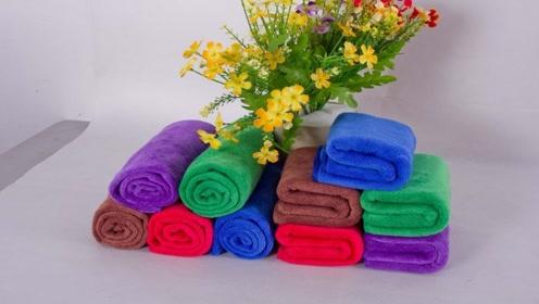 旧毛巾不要别着急丢,只需简单改一改,成品秋冬家家户户都需要