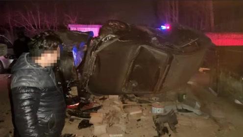 男子醉驾回家一头冲入停车场连毁5车 保险公司:不予理赔