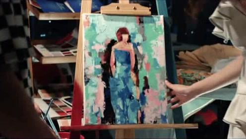 美女说他的画让她的方案十拿九稳,记他一大功,帅哥高兴!