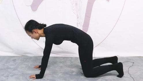有腰不好的,1个瑜伽体式,拱腰拱背,脊椎1天比1天健壮!