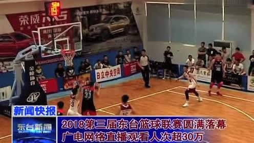 2018第三届东台篮球联赛圆满!