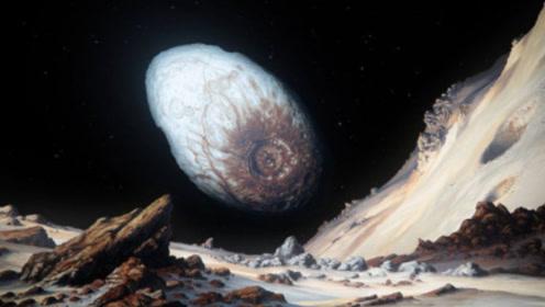 宇宙中的冻鸡蛋,太阳系边界的妊神星,宇航员站上面要被甩出去!