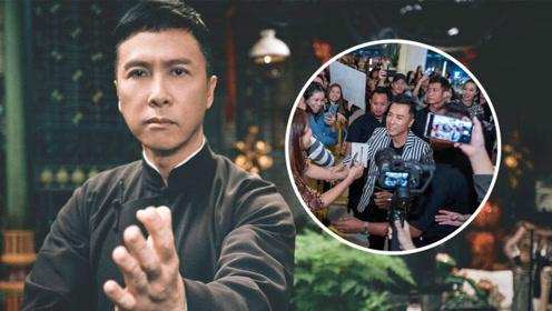 《叶问4》新加坡大佬看了都说好!甄子丹受5000影迷称赞