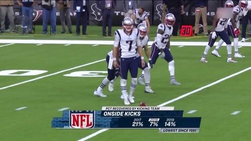 NFL常规赛:最后的50秒!爱国者选择赌博踢,解说:这球达到了极致!