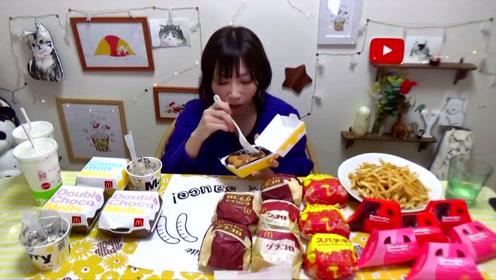 【木下大胃王】GURAKORO汉堡来啦!还有牛肉芝士汉堡