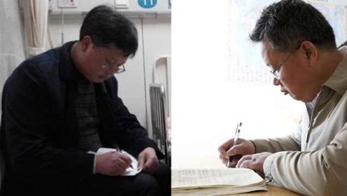 6年为儿子写122万字抗癌日记,49岁父亲头发渐白