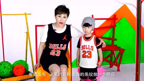 篮球潮童搭起来 球衣也能潮翻天
