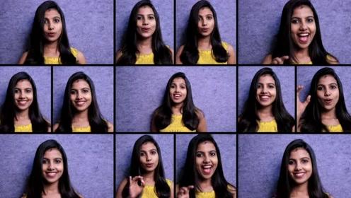 油管美妞Sruthy Sasidhar翻唱经典印度歌曲《Jiya Jale》