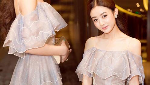 连衣裙变身藏肉神器 这件赵丽颖同款我也想要