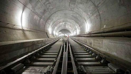 世界上最长最深的隧道,耗时17年,只节约了1个小时!
