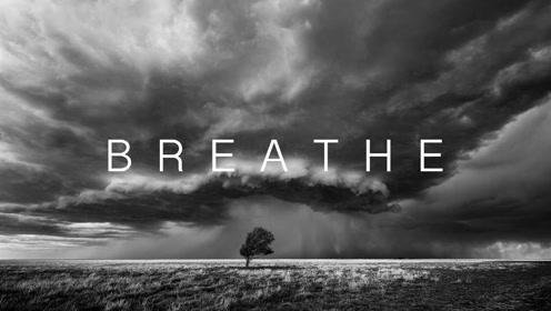 唯美又震撼,8K摄影下的黑白暴风世界:追风·呼吸