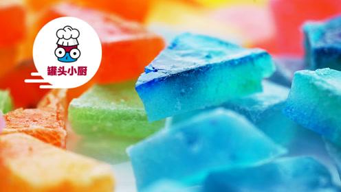 做法超简单的宝石琥珀糖,成品相当惊艳!爱吃甜食的马住