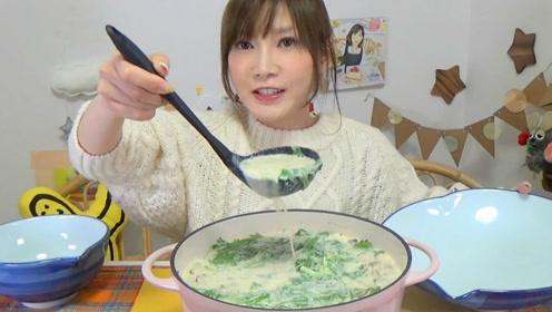 木下大胃王:既低热量又健康美味的豆奶豆腐火锅