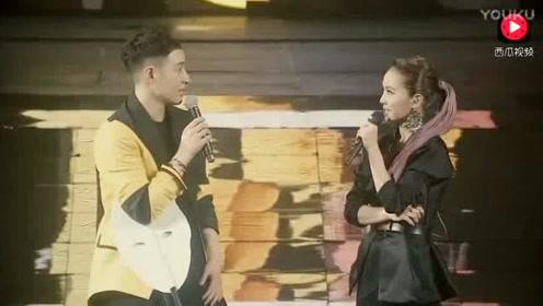 蔡依林现身潘玮柏演唱会,性感热舞引爆全场