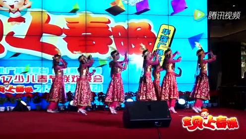 2018幼儿园六一舞蹈视频-《维吾尔族少女》