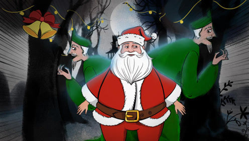 你不知道的怪诞:史上第一位圣诞老人竟如此惊悚