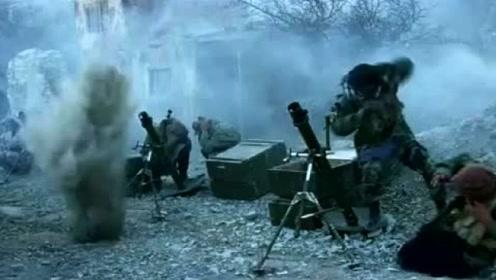 用装甲车干掉敌人抢夺迫击炮,然后与敌军互轰