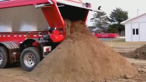 渣土车还能这么先进,看看国外的渣土车如何做到没有扬尘的