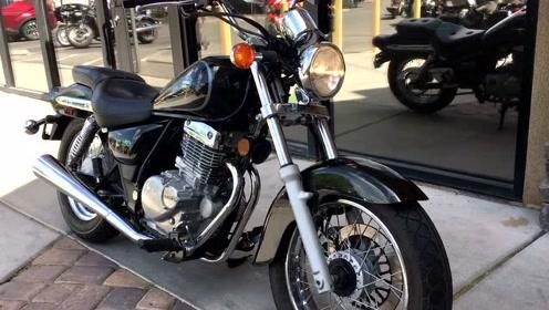 当年骑它比开宝马拉风!2002 铃木Suzuki GZ250
