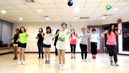 美女舞团跳Exid《L.I.E》舞蹈,跳得好欢快啊!