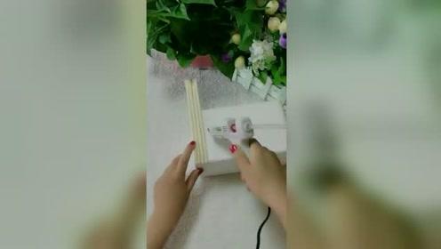 一次性筷子,还有这种用法啊