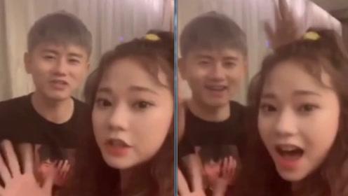 紫宁庆祝粉丝破200万 和偶像张杰合唱秒变迷妹