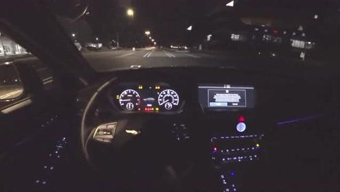 第一视角 2018 Genesis捷恩斯 G90 3.3T AWD夜间驾驶