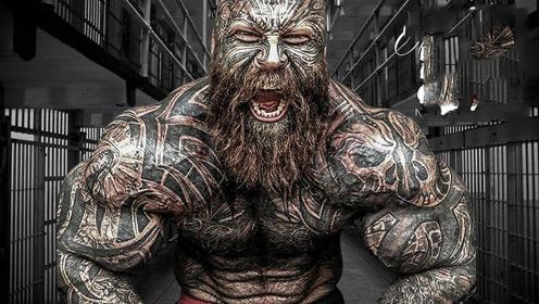 肌肉无敌的纹身野兽,和巨臂哥是好兄弟,如今块头更加吓人