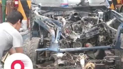 修车厂低价收辆报废福特猛禽,不到一个月后翻修卖给社会人