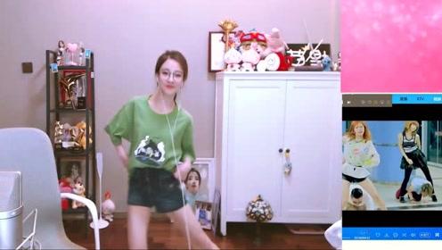全民偶像冯提莫大跳《江南style》,网友:小短腿的频率还挺快!