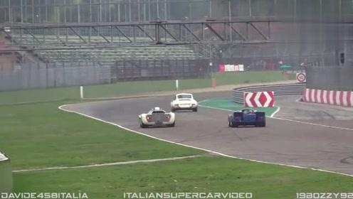 1968年的赛车,拉到赛道上跑一下试试看
