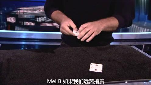 美国达人秀:魔术师手法炫酷,用纸牌讲内心的故事,可怕的表演
