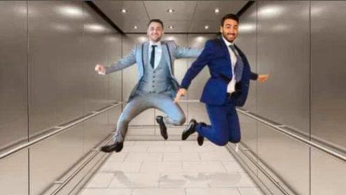 如果电梯突然下坠,落地的瞬间跳起来,我们可以保命吗?