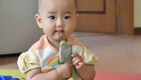 婆婆心疼孙子给不到一岁的宝宝吃冰淇淋,却不知宝宝肠胃无法承受