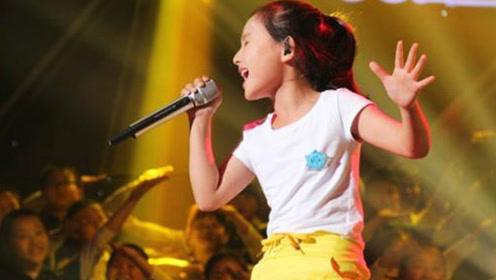 汪峰做梦都没想到,他的歌被10岁小女孩唱的这么大快人心,荡气回肠