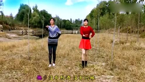广场舞《九月九的酒》思乡的舞蹈旋律,超魔性!