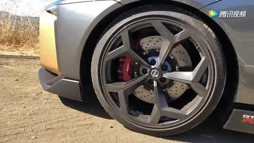 终于看到实车了!日产GT-R50 新车亮相