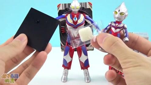 《橙子乐园在日本》迪迦奥特曼收到自己的迷你发光人偶盒玩