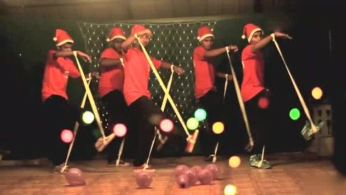 圣诞元旦节舞蹈那么多,这个舞蹈最好看