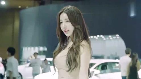 韩国车模金美珍小姐姐,这颜值果然不是一般人能比的!